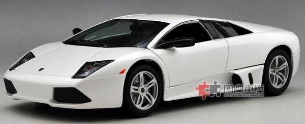 โมเดลรถ โมเดลรถเหล็ก โมเดลรถยนต์ Lamborghini LP640 white 1
