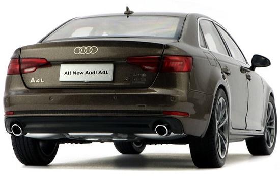 โมเดลรถ โมเดลรถเหล็ก โมเดลรถยนต์ Audi A4L brown 5