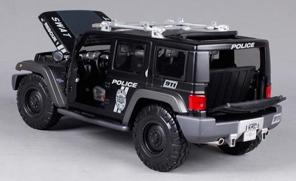 โมเดลรถ โมเดลรถเหล็ก โมเดลรถยนต์ Jeep Swat 5