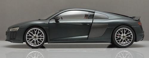 โมเดลรถ โมเดลรถเหล็ก โมเดลรถยนต์ Audi R8 V10 2017 grey 5
