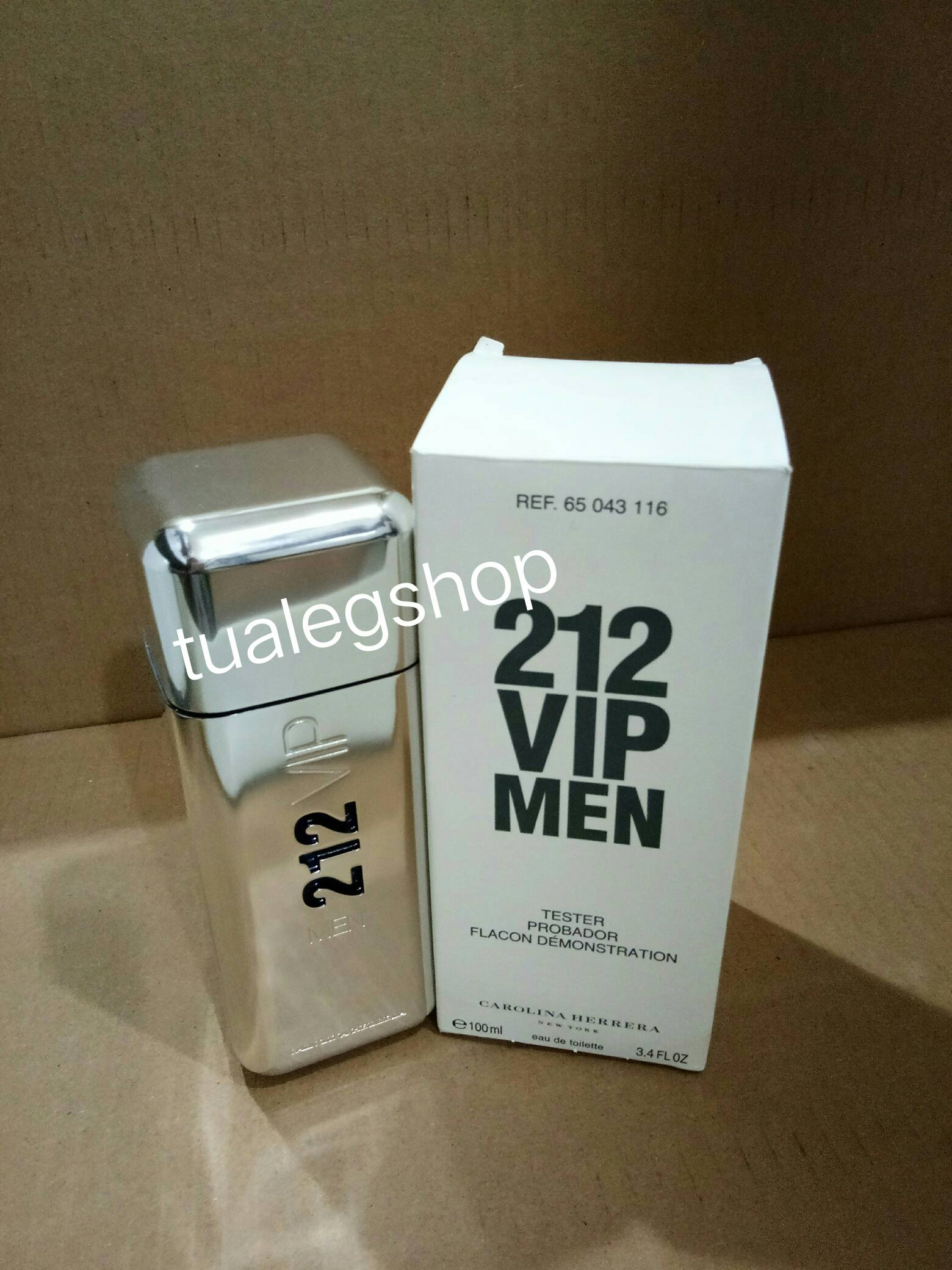 Carolina Herrera 212 VIP for Men EDT 100ml (tester box)