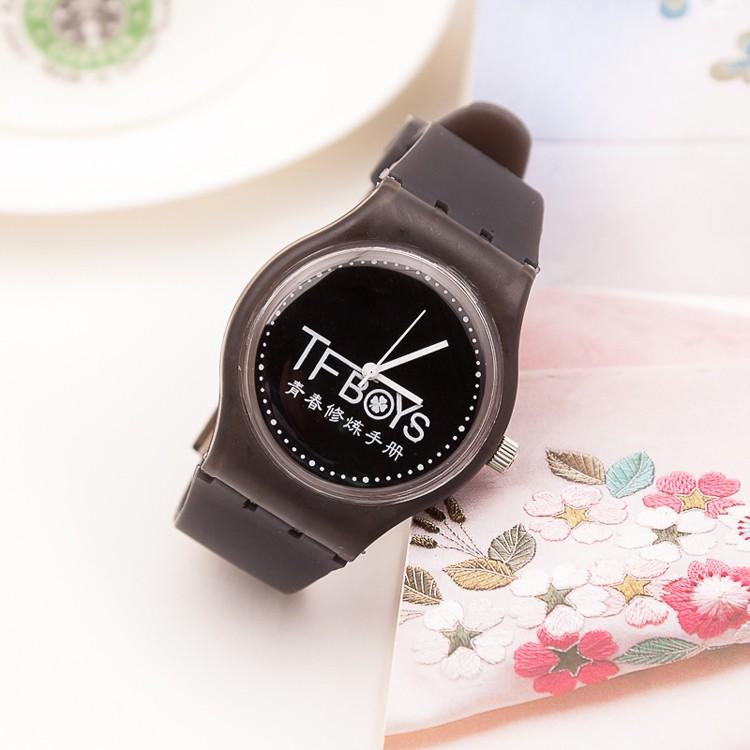 พร้อมส่ง นาฬิกา [Black] TFBOYS