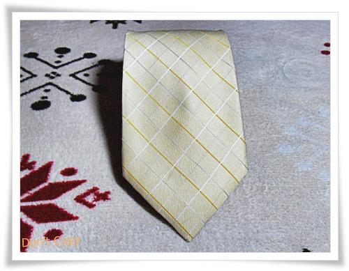 เนคไท ผู้ชาย Armani สีเหลือง N013