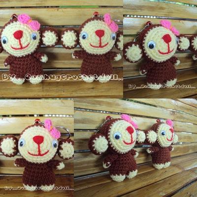 น้องลิงจ๋อแบบยืนน่ารักอะ =^^=