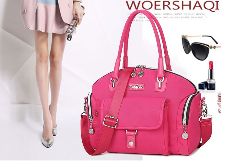 กระเป๋าสะพาย กระเป๋าถือผ้าไนลอน แบบคงตัว กระเป๋าไนลอน เทรนด์ใหม่ แบบสวย ดีไซน์ น่ารัก วัยรุ่น อินเทรนด์ 697715