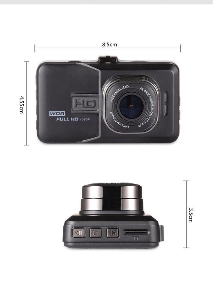 กล้องติดหน้ารถ Full HD