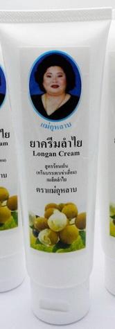 Longan Cream ครีมนวดลำไย ตราแม่กุหลาบ บรรเทาอาการเข่าเสื่อม