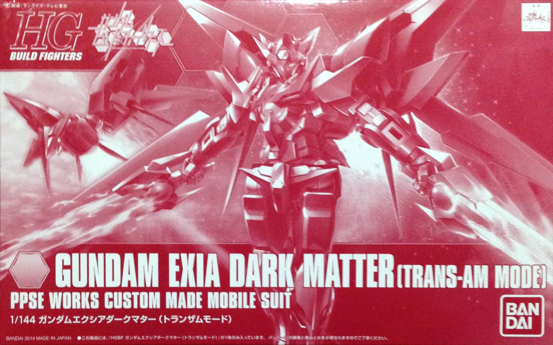 exia dark matter trans am - photo #37