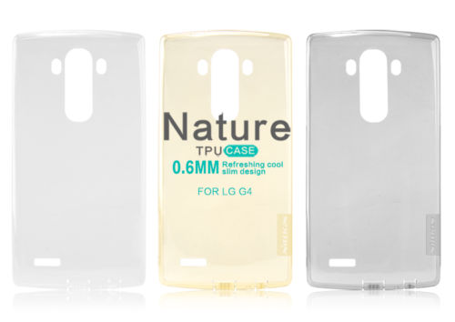 Nillkin Nature Slim Clear TPU Case Cover for LG G4
