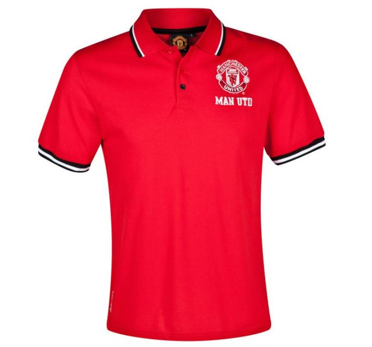 แมนยูล่าสุด: เสื้อแมนยู ของแท้ 100% Manchester United Tipped Polo Shirt