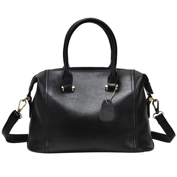 [ Pre-Order ] - กระเป๋าแฟชั่น สไตล์เกาหลี สีดำคลาสสิค ทรงหมอนใบกลางๆ ดีไซน์แบรนด์ดังแบบยุโรป แบบสวยเรียบหรู สาวๆห้ามพลาด