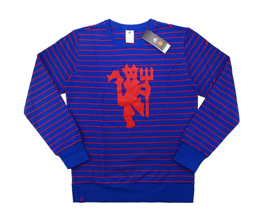 เสื้อสเวตเตอร์อดิดาสแมนเชสเตอร์ ยูไนเต็ด สีน้ำเงินของแท้