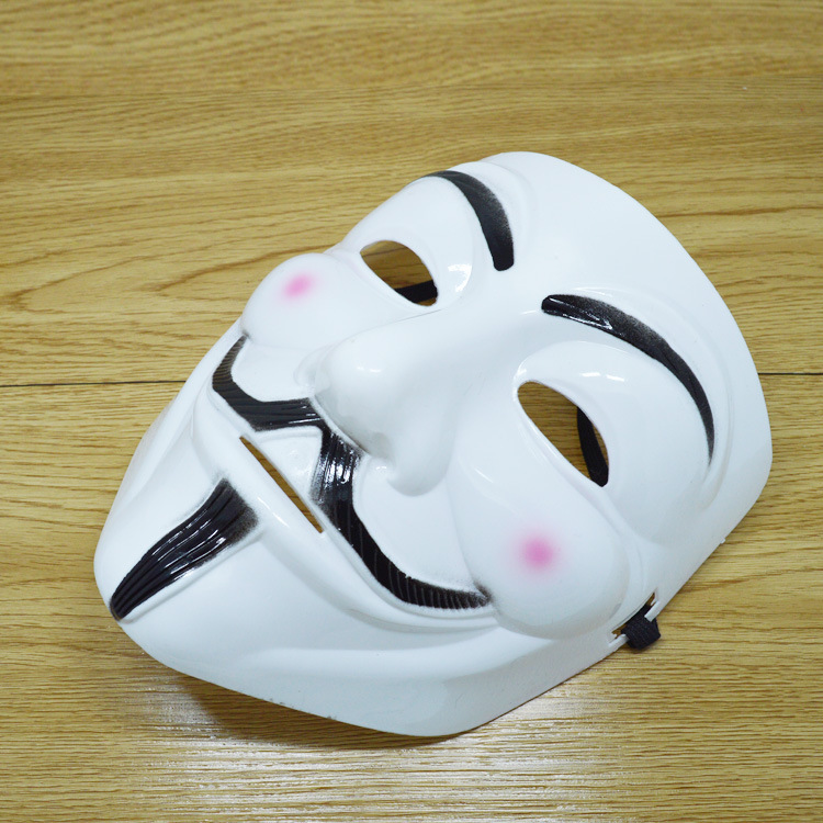 หน้ากากเรืองแสง V FOR Vendetta