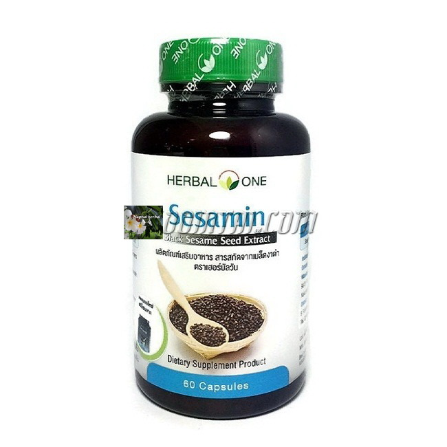 เซซามินสารสกัดจากงาดำ (Herbal One Sesamin )
