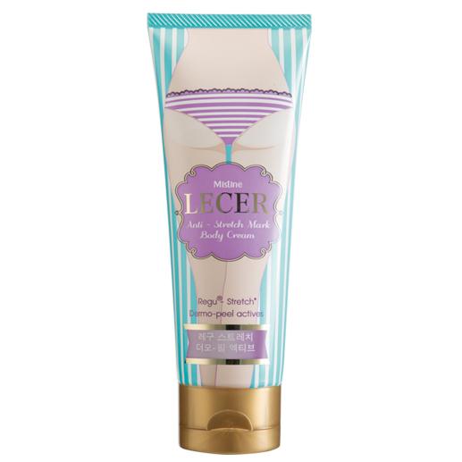 Mistine LECER Anti-Stretch Mark Cream ครีมลดผิวแตกลาย ปรับสีผิว ก้นเนียน กระชับ