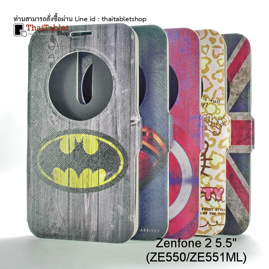 "Case for Case Asus Zenfone 2 5.5"" (ZE550/(ZE551ML) รุ่น Cartoon Series"