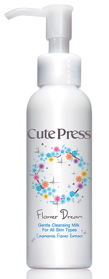 Cute Press Flower Dream Gentle Cleansing Milk น้ำนมล้างเครื่องสำอาง
