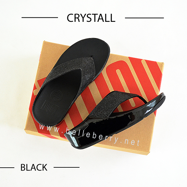 * NEW * FitFlop : CRYSTALL : Black : Size US 7 / EU 38
