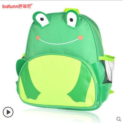 (กบ) กระเป๋าเป้ zoo pack พิเศษรุ่นซิปเป็นรูปสัตว์ตามแบบกระเป๋าค่ะ
