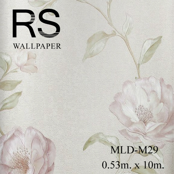 วอลเปเปอร์ลายดอกไม้ MLD-M29