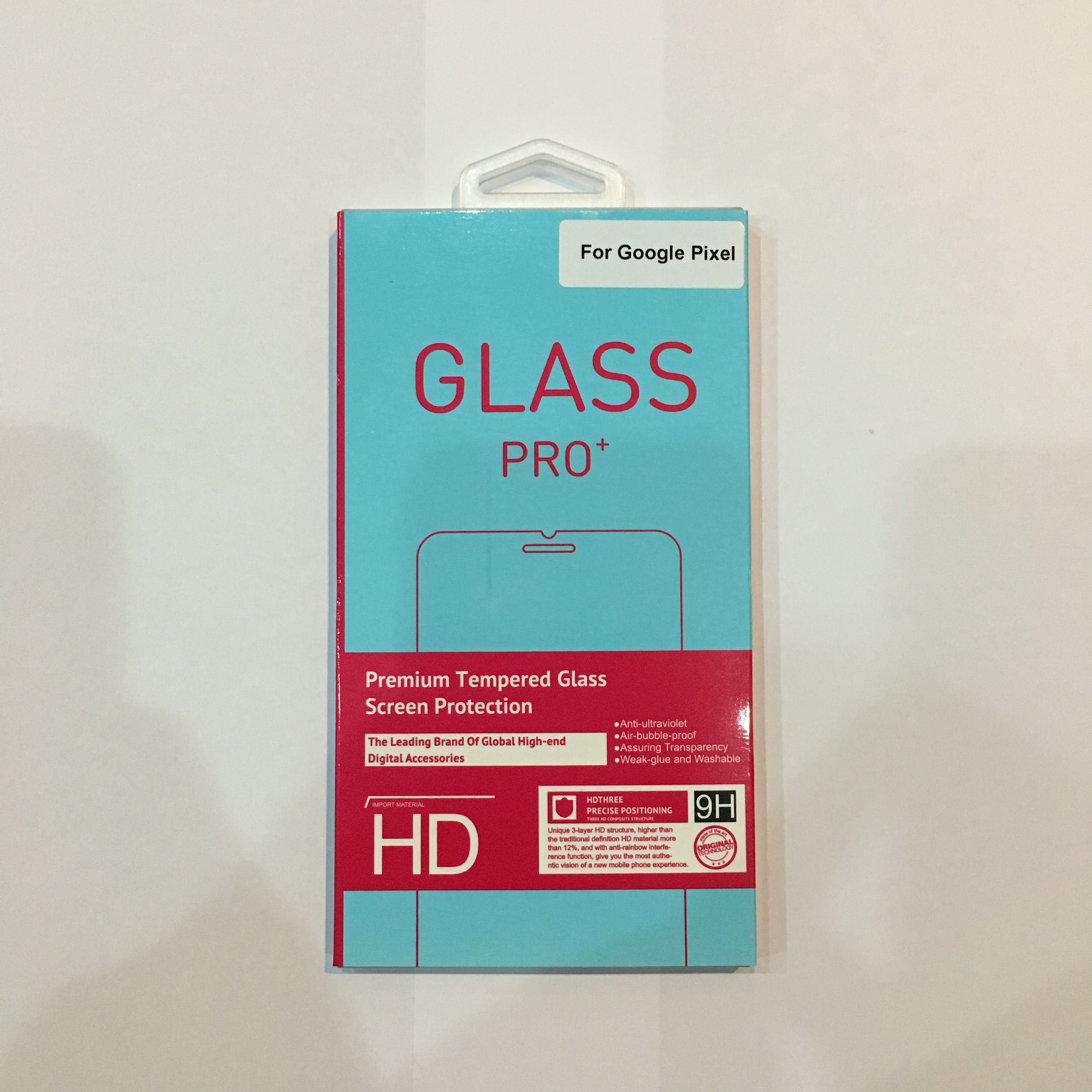 "Google Pixel Tempered Glass Screen Protector [5.0""]"