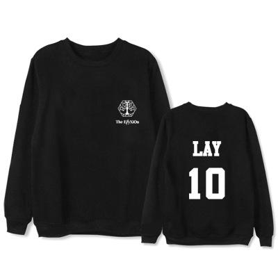 """เสื้อแขนยาว EXO Planet #4 – """"The EℓyXiOn"""" - LAY"""