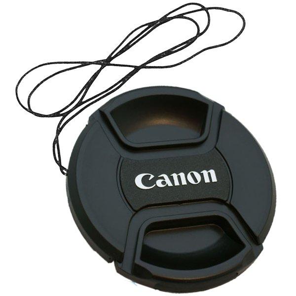 Canon Lens Cap ฝาปิดหน้าเลนส์ แคนอน ขนาด 43 49 52 55 58 62 67 72 77 mm.