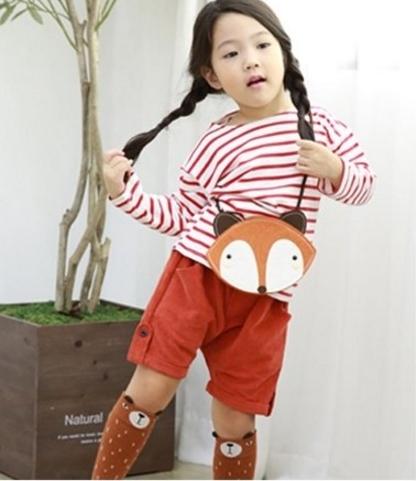 กระเป๋าสะพายหมาจิ้งจอก Cute fox