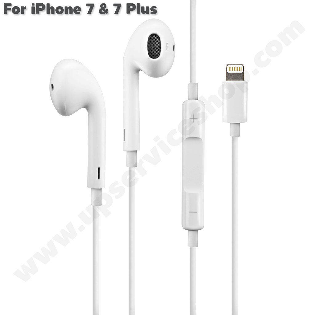 Apple EarPods iPhone X - 7 & 7 Plus Lightning - หูฟังแท้ไอโฟน 7 และ 7 Plus iPhone X