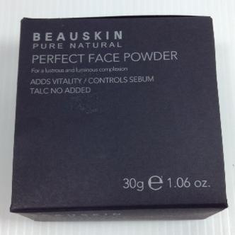 BEAUSKIN PURE NATURAL PERFECT FACE POWDER / TALC FREE