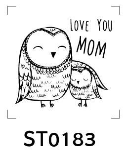 Cartoon Stamp - รูปการ์ตูนน่ารัก 002