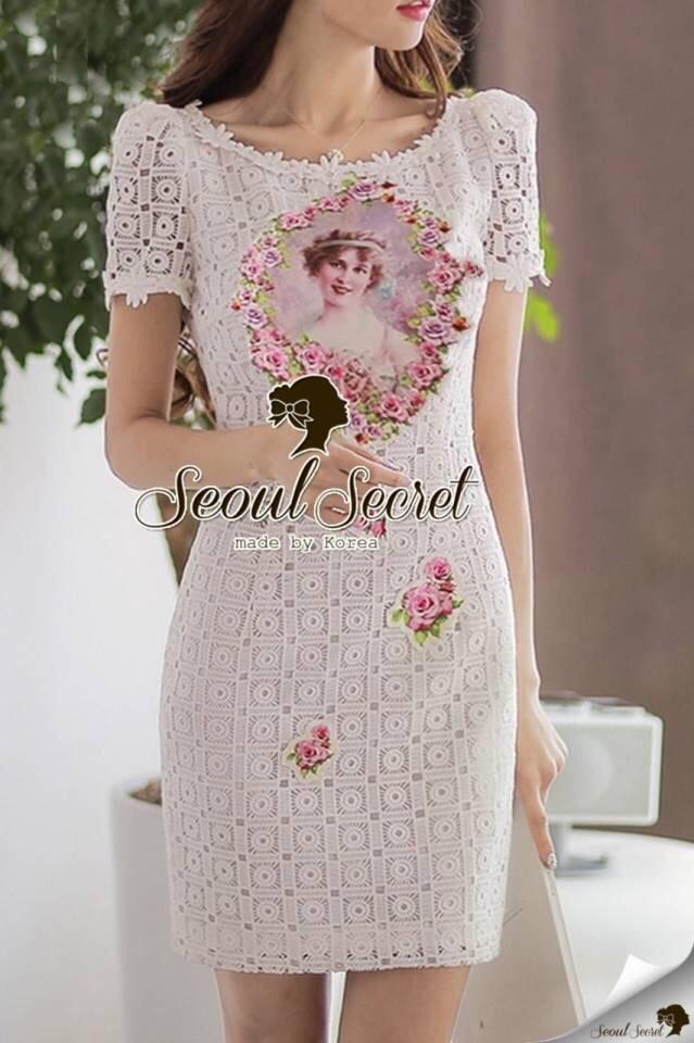Seoul Secret Say's... Princess Lace Lux Dress