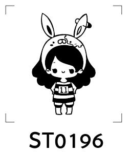 Cartoon Stamp - รูปการ์ตูนน่ารัก 014