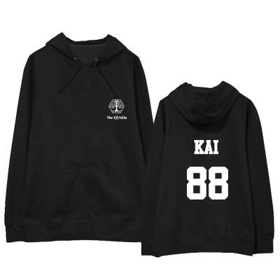 """เสื้อแขนยาวมีฮู้ด EXO Planet #4 – """"The EℓyXiOn"""" - KAI"""