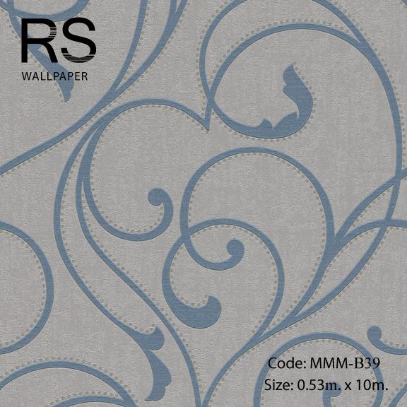วอลเปเปอร์ลายใบไม้ MMM-B39
