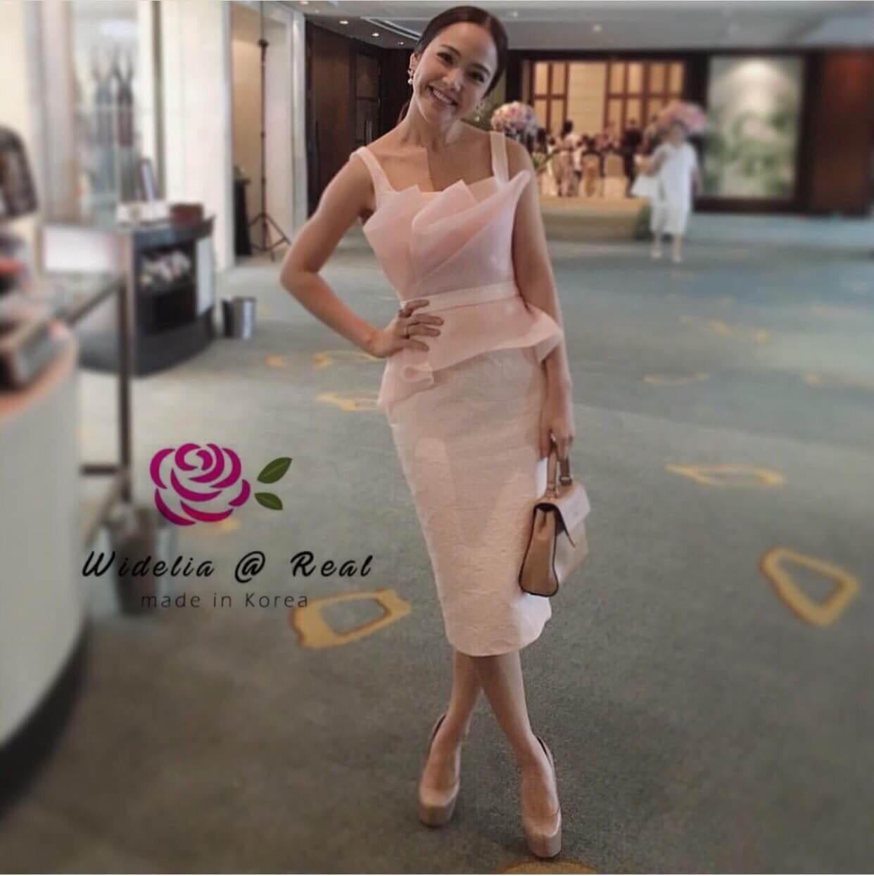 CH Dress เดรสแขนกุด