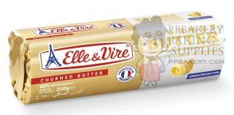 Elle&Vire เนยจืด (Elle&Vire unsalted butter roll) 500 g (ไม่จัดส่งทางไปรษณีย์)