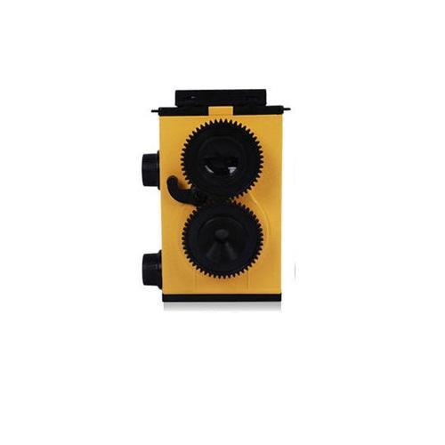 กล้องโลโม่ D.I.Y Twin Lens ดีไซน์สุดคลาสสิค น่าใช้ น่าสะสม สีเหลือง