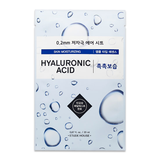 Etude House Skin Moisturizing Hyaluronic Acid Mask Sheet 20 ml