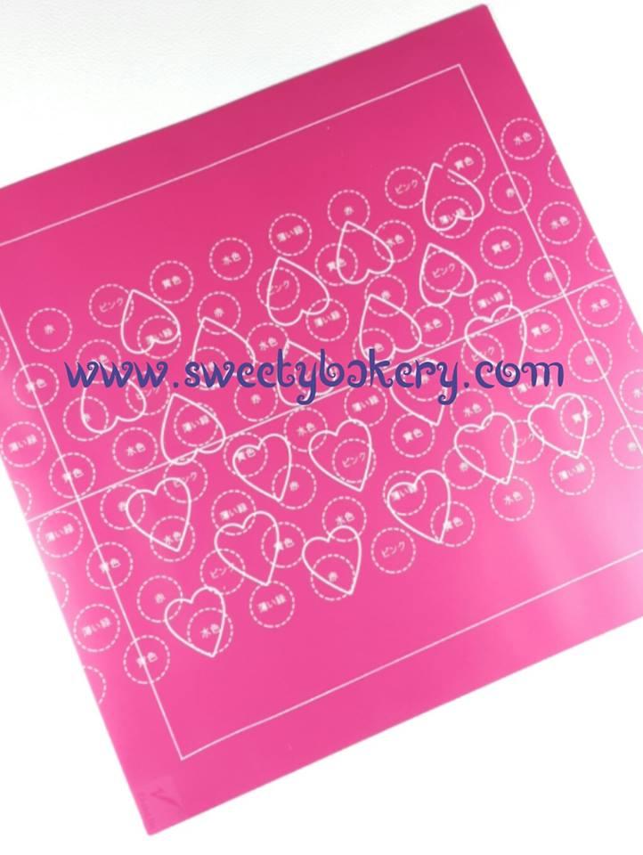 ซิลิโคน ทำโรลลวดลาย (Painting cake pad)