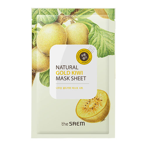 The Saem Natural Gold Kiwi Mask Sheet