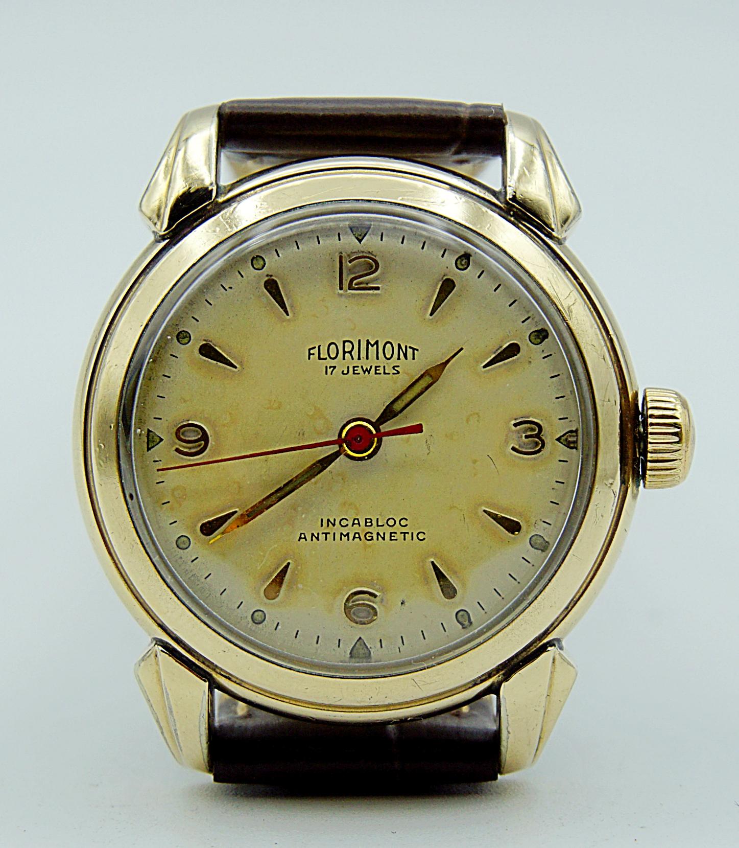 นาฬิกาเก่า FLORIMONT ไขลาน