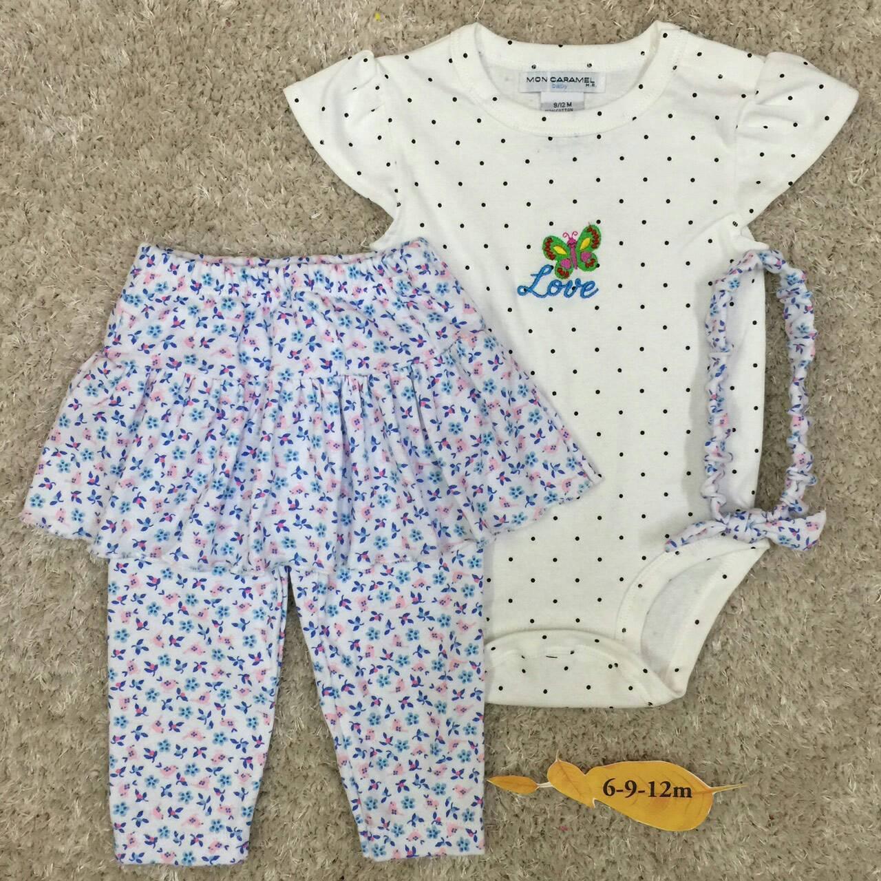 เสื้อผ้าเด็ก (พร้อมส่ง!!) 170460-34