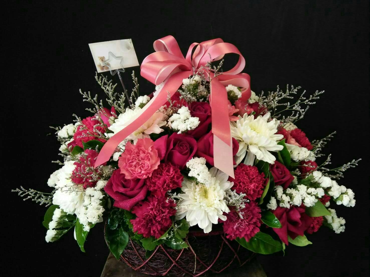 กระเช้าดอกไม้09