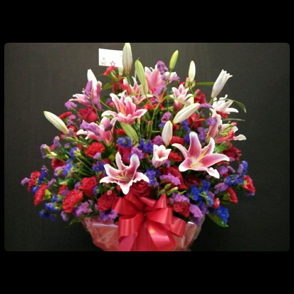 กระเช้าดอกไม้ 05