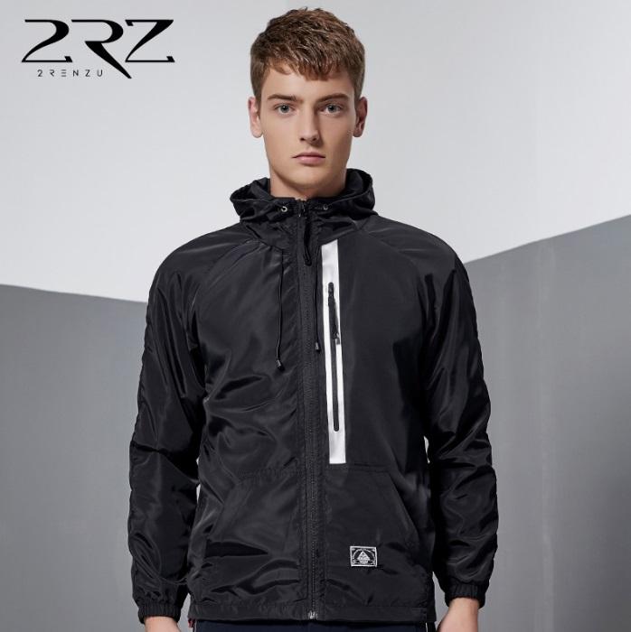 fashion เสื้อแจ็คเก็ต ผ้าร่ม แบบบาง HOOD (รอสินค้า15-20วัน)