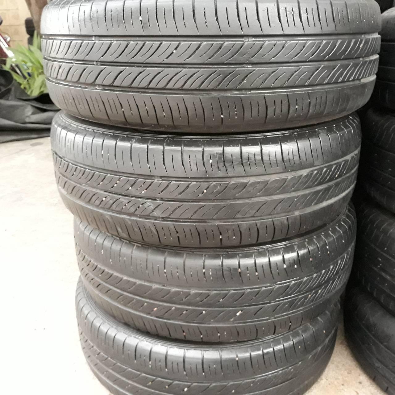 ขายยาง 185 60R15 ปี 2016 Dunlop ec300 สัปดาห์ที่ 44 ปี 2016 จำนวน 4 เส้น ราคา 2800