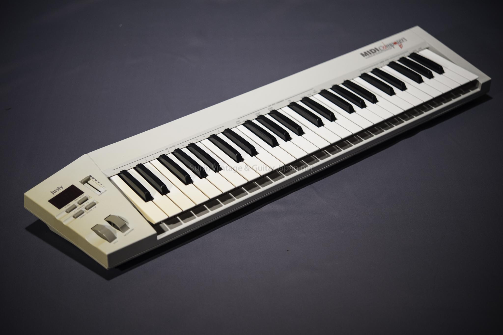 คีบอร์ดมือสอง Justy MIDI Composer Midi Keyboard