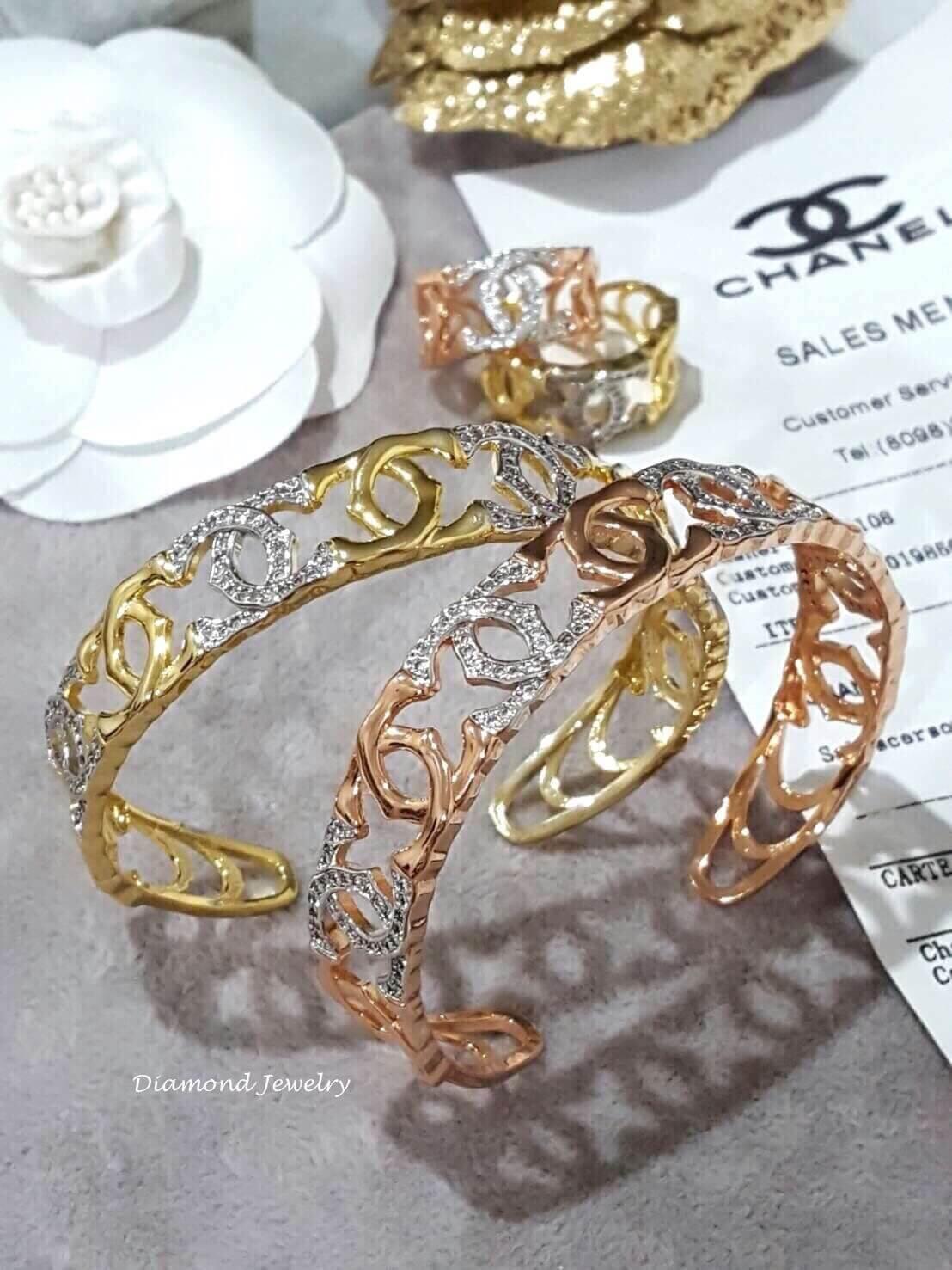 พร้อมส่ง เซตกำไล & แหวน Chanel