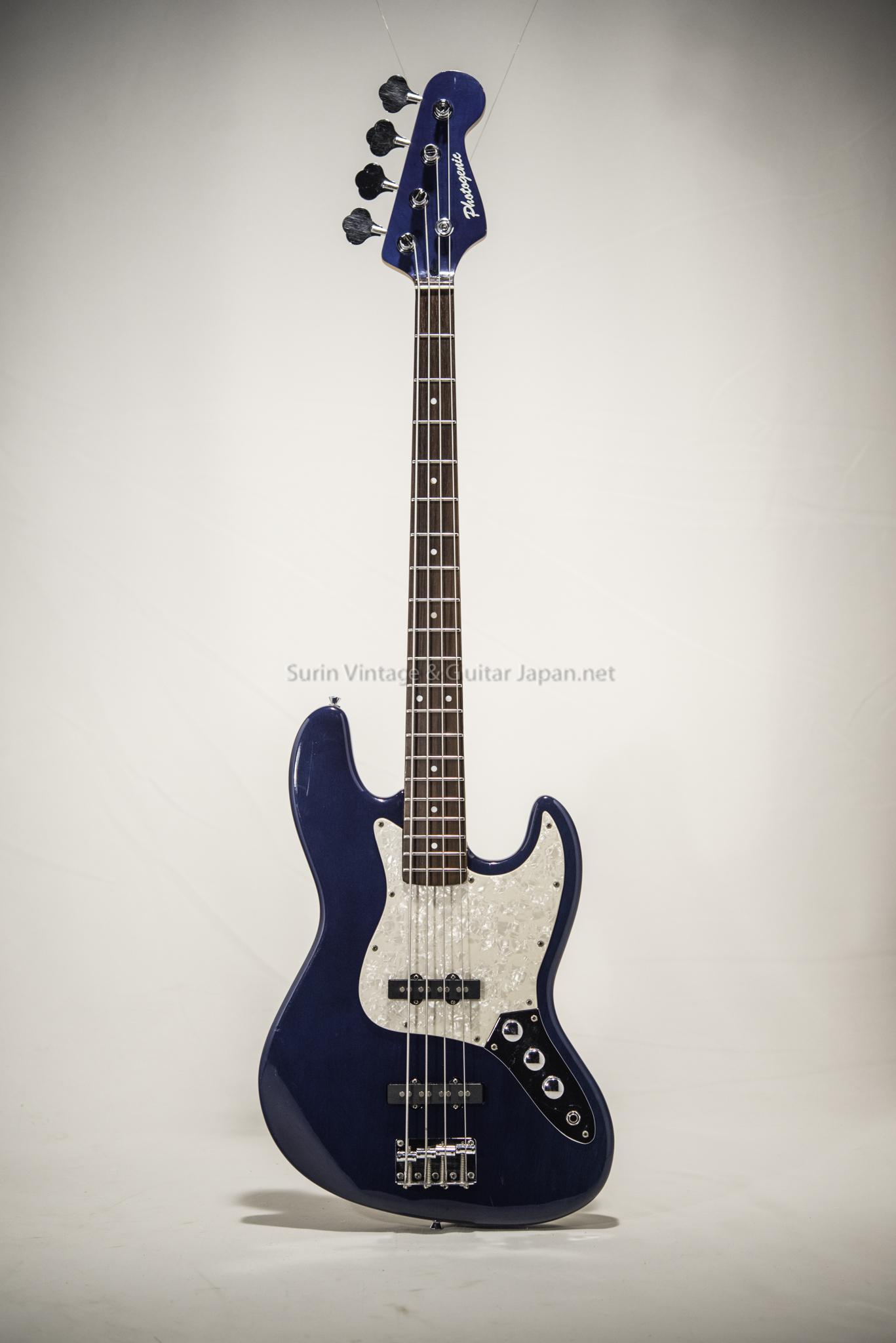 กีต้าร์เบสไฟฟ้ามือสอง Photogenic JB-Blue No.24